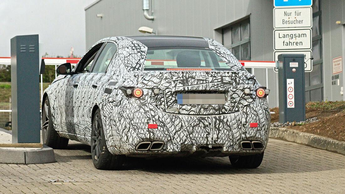 Erlkönig Mercedes-AMG C63