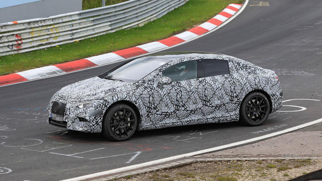Erlkönig Mercedes-AMG EQE
