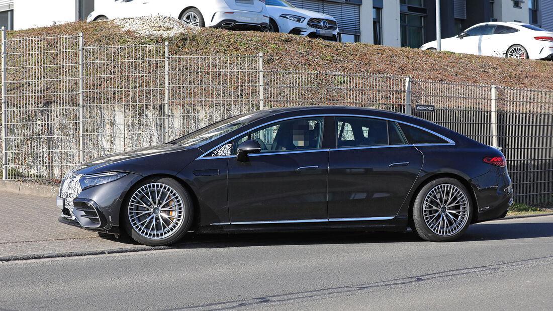 Erlkönig Mercedes-AMG EQS