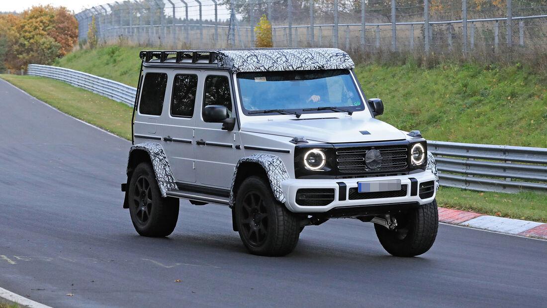 Erlkönig Mercedes-AMG G 63 4x4²