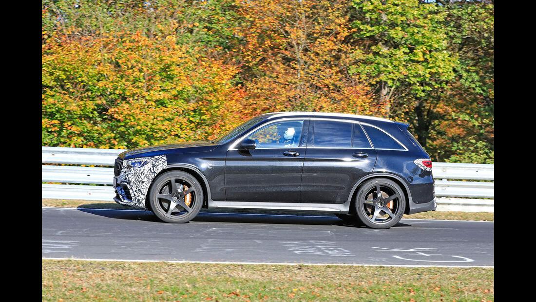 Erlkönig Mercedes-AMG GLC 63