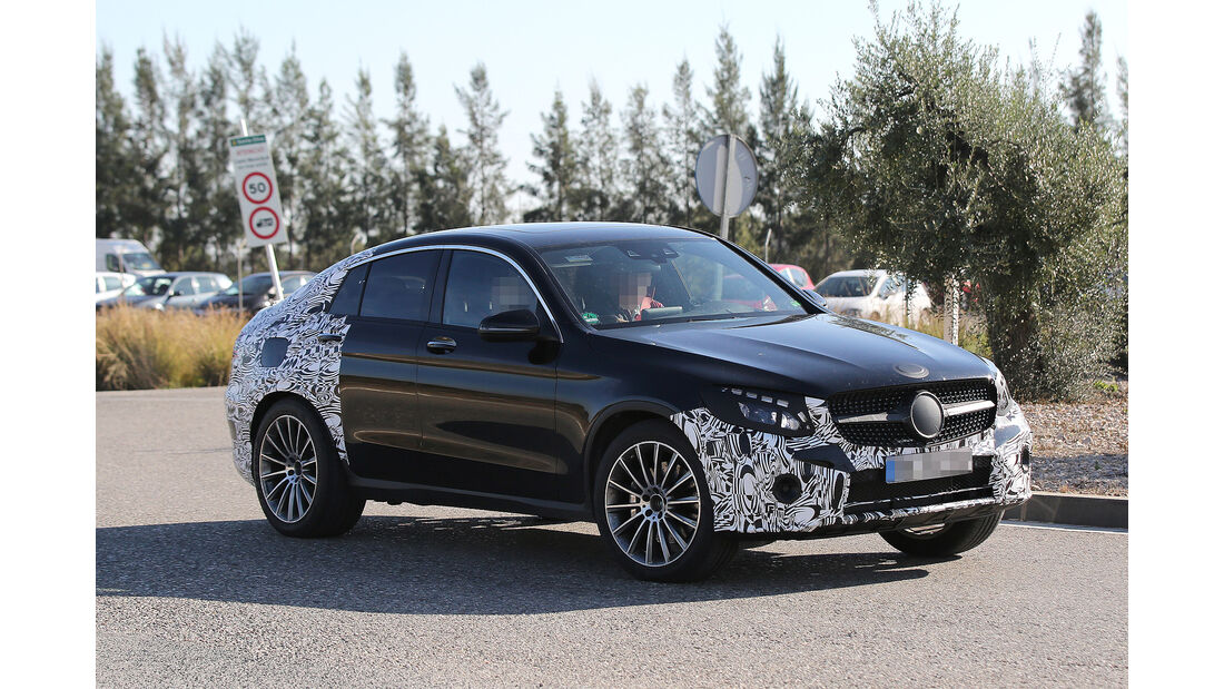 Erlkönig Mercedes-AMG GLC Coupé 450