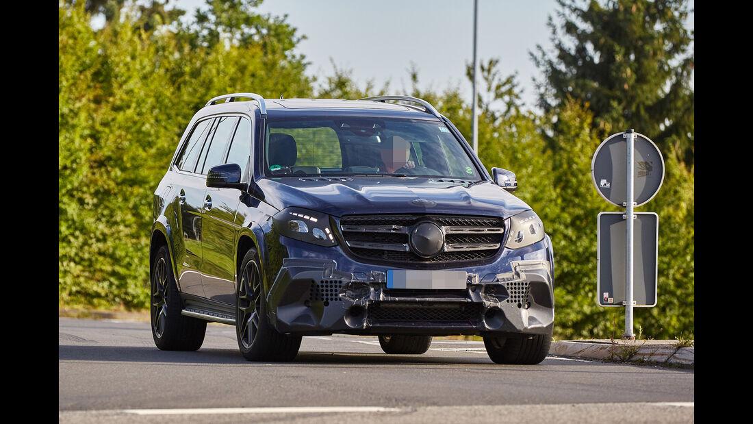 Erlkönig Mercedes-AMG GLS 63