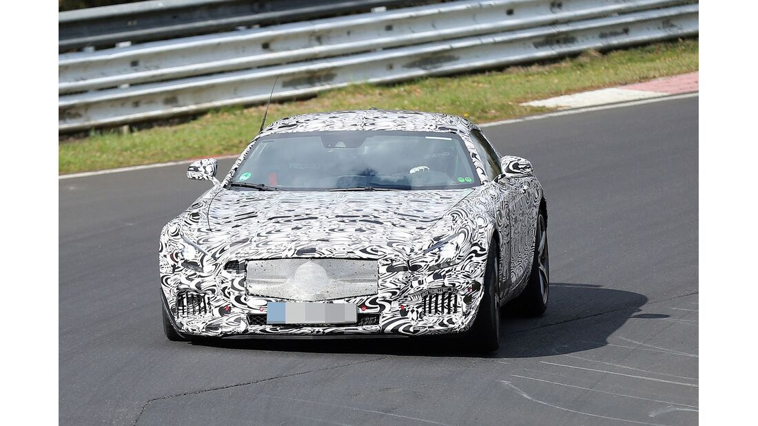 Erlkönig Mercedes AMG GT