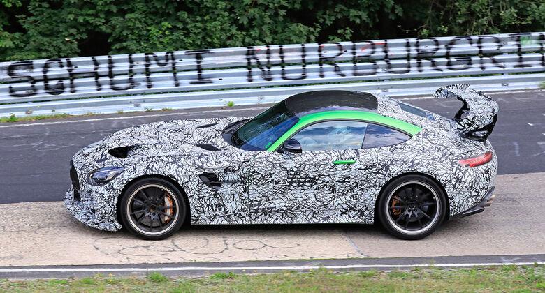 Erlkönig Mercedes-AMG GT R Evo