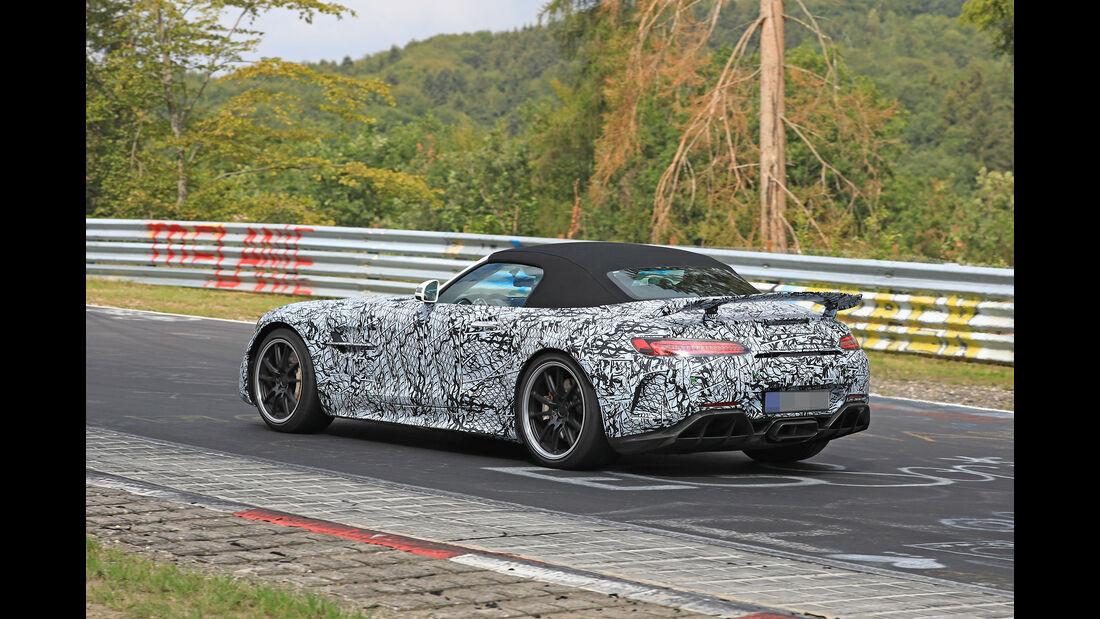 Erlkönig Mercedes-AMG GT R Roadster