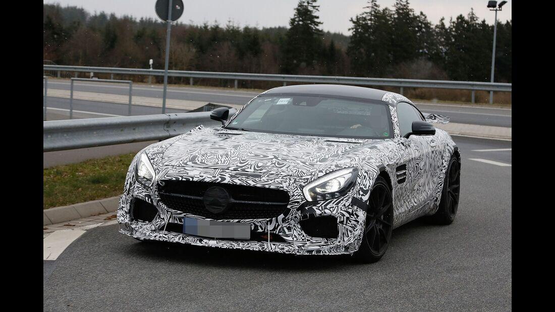 Erlkönig Mercedes AMG GT3