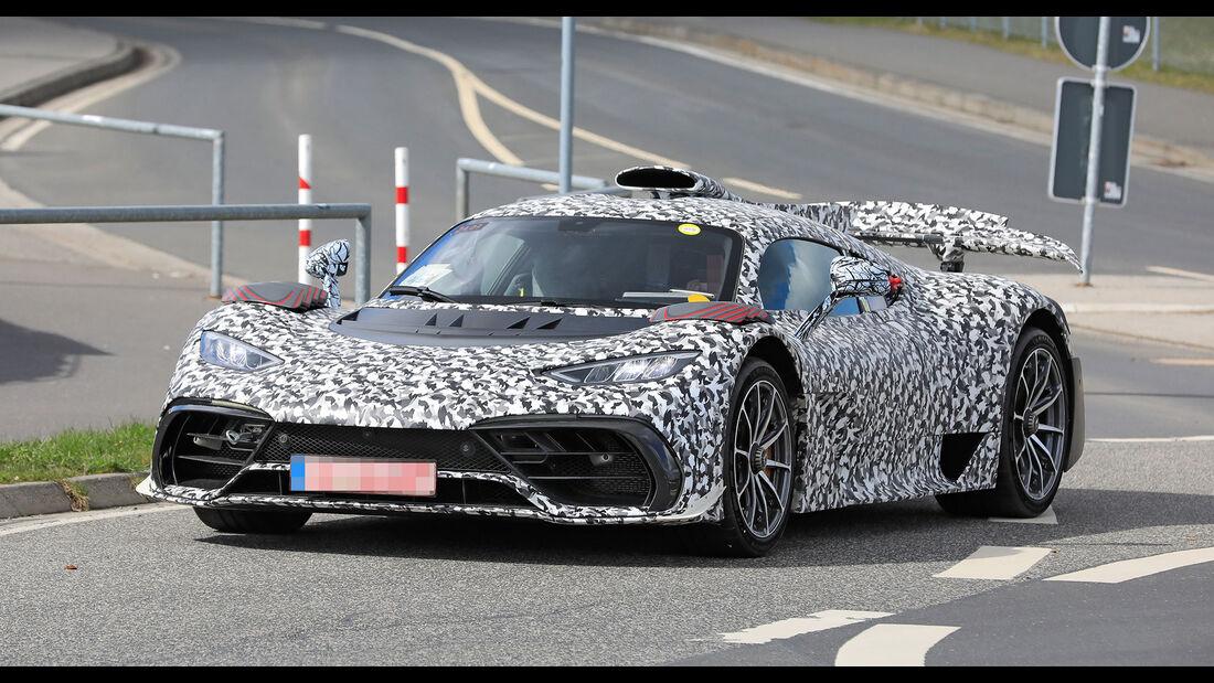 Erlkönig Mercedes-AMG One
