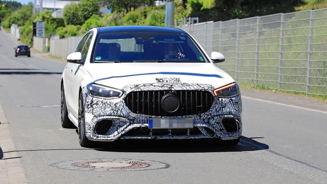 Erlkönig Mercedes-AMG S-Klasse