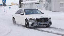 Erlkönig Mercedes-AMG S63