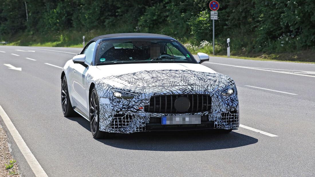 Erlkönig Mercedes-AMG SL