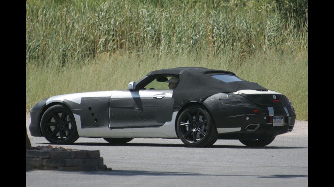 Erlkönig Mercedes AMG SLS Cabrio