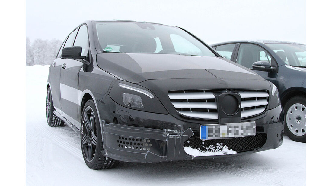Erlkönig Mercedes B-Klasse AMG