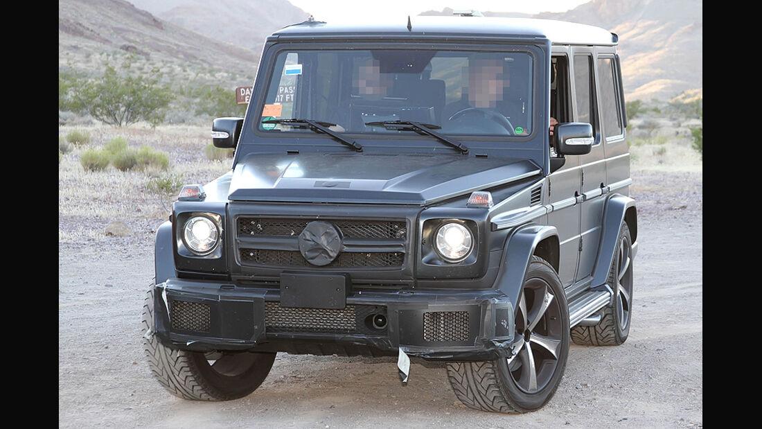 Erlkönig Mercedes Benz G-Klasse