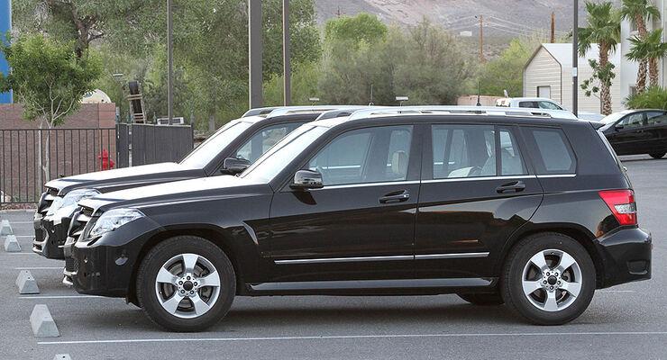 Erlkönig Mercedes-Benz GLK Facelift