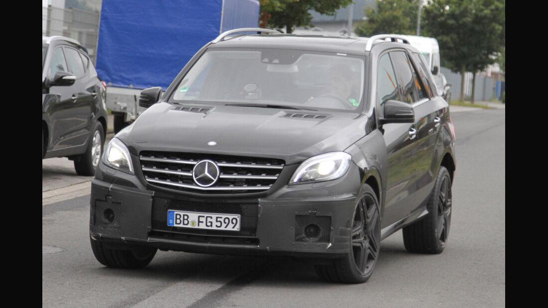 Erlkönig Mercedes Benz ML63 AMG