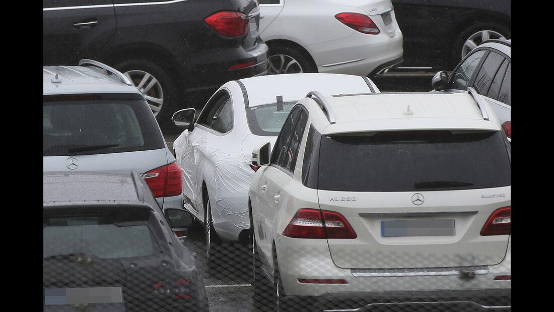 Erlkönig Mercedes C-Coupé
