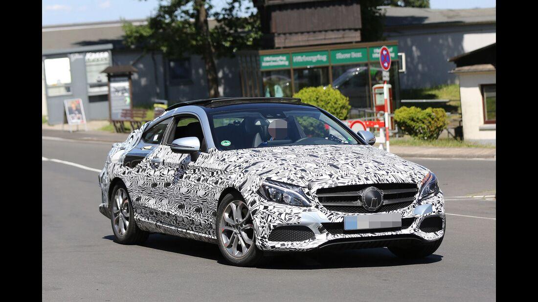 Erlkönig Mercedes C-Coupe