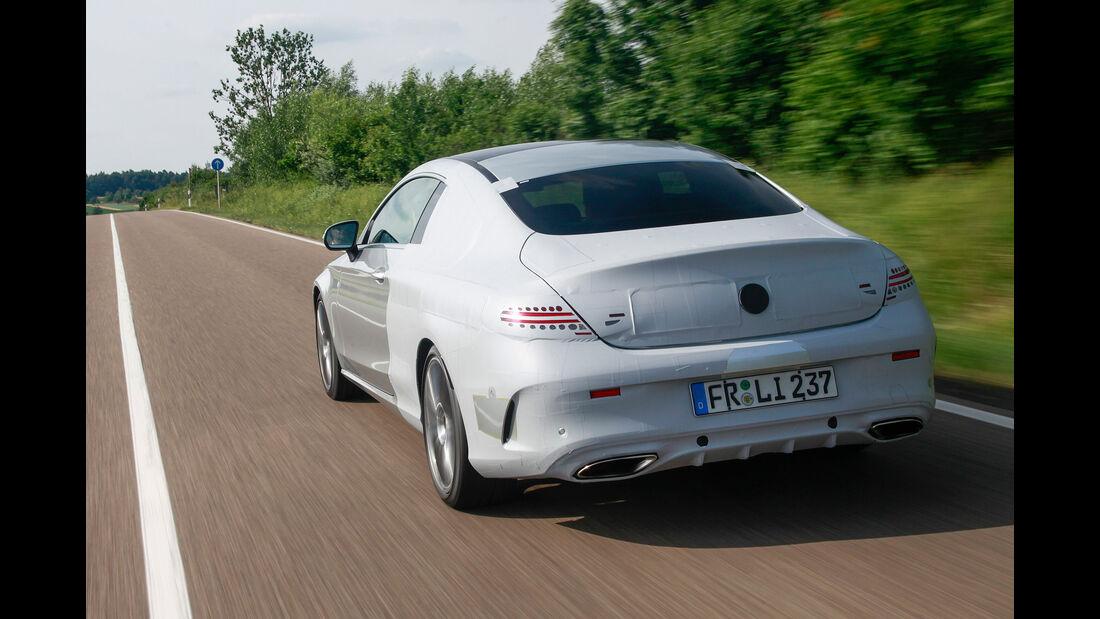 Erlkönig Mercedes C-Klasse Coupé