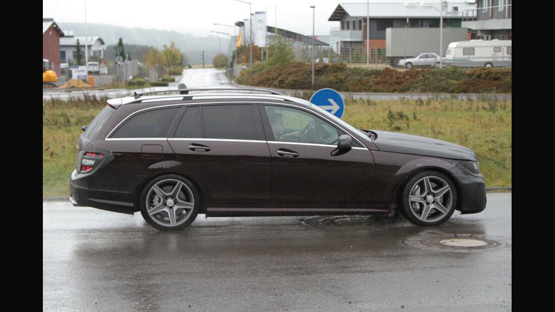 Erlkönig Mercedes C-Klasse Kombi