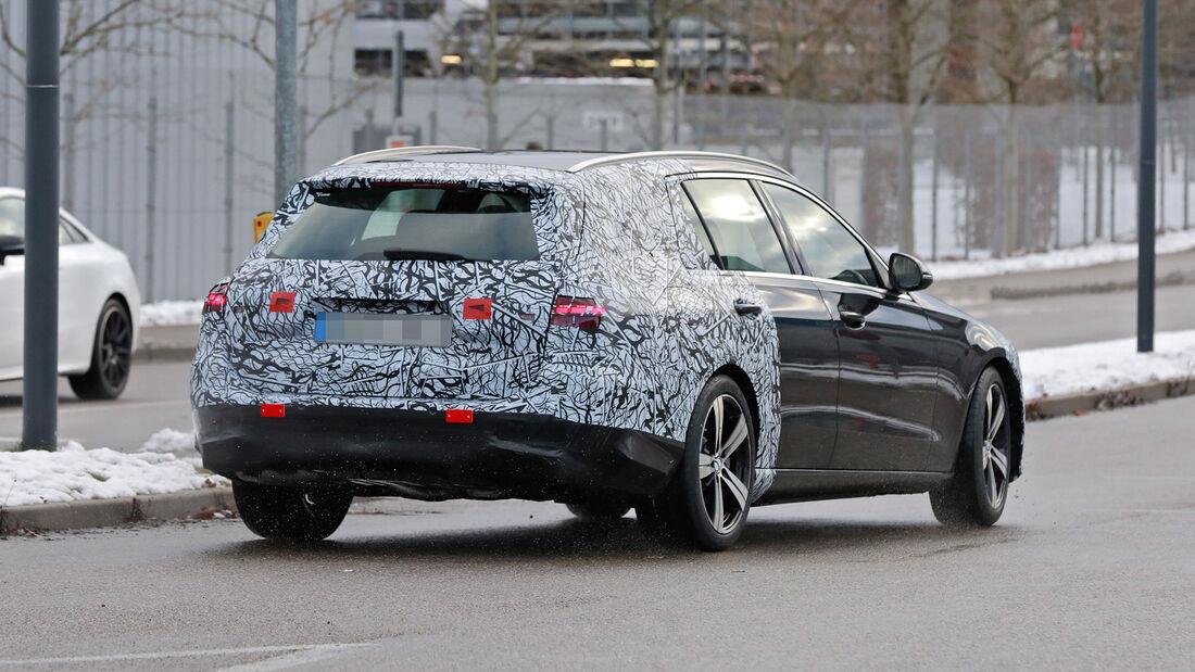Erlkönig Mercedes C-Klasse T-Modell