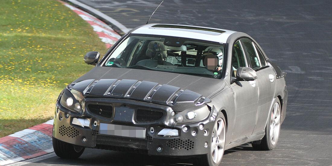 Erlkönig Mercedes C-Klasse
