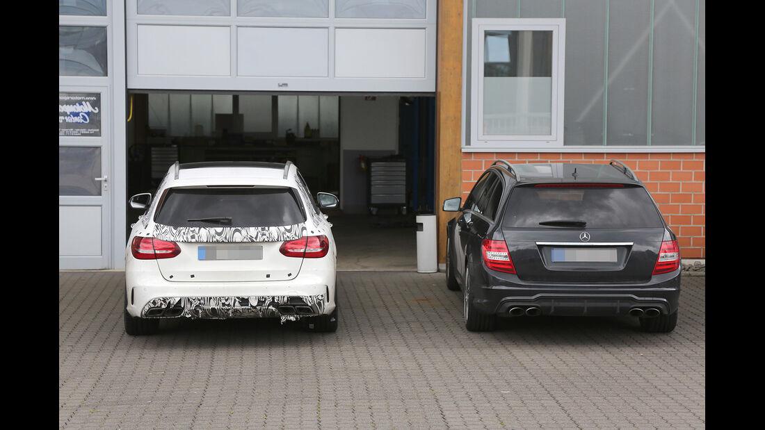 Erlkönig Mercedes C63 AMG T-Modell