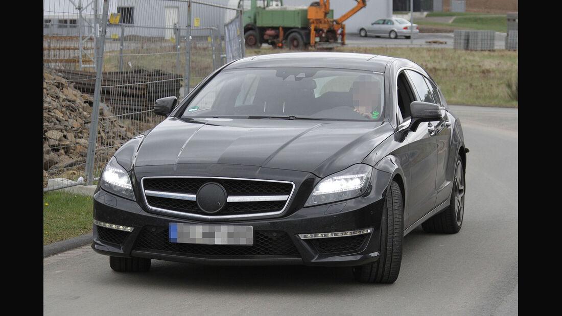 Erlkönig Mercedes CLS Shooting Brake 63 AMG