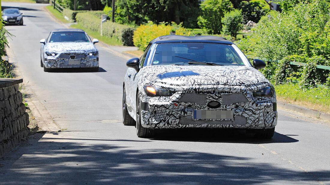 Erlkönig Mercedes Cabrio