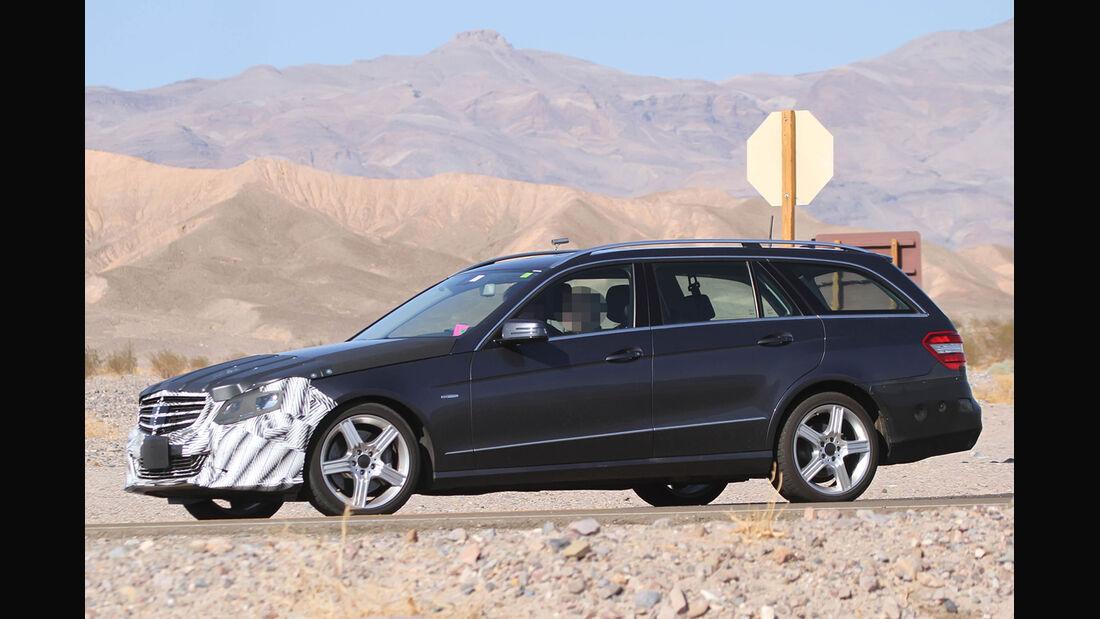 Erlkönig Mercedes E-Klasse T-Modell