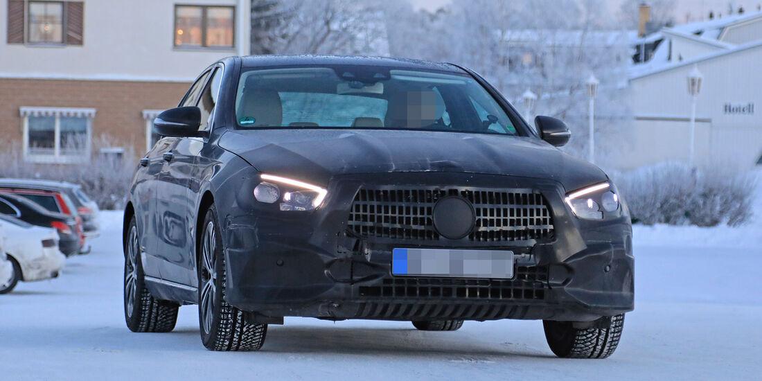 Mercedes E Klasse Facelift Version Kommt Ende 2019 Auto Motor Und