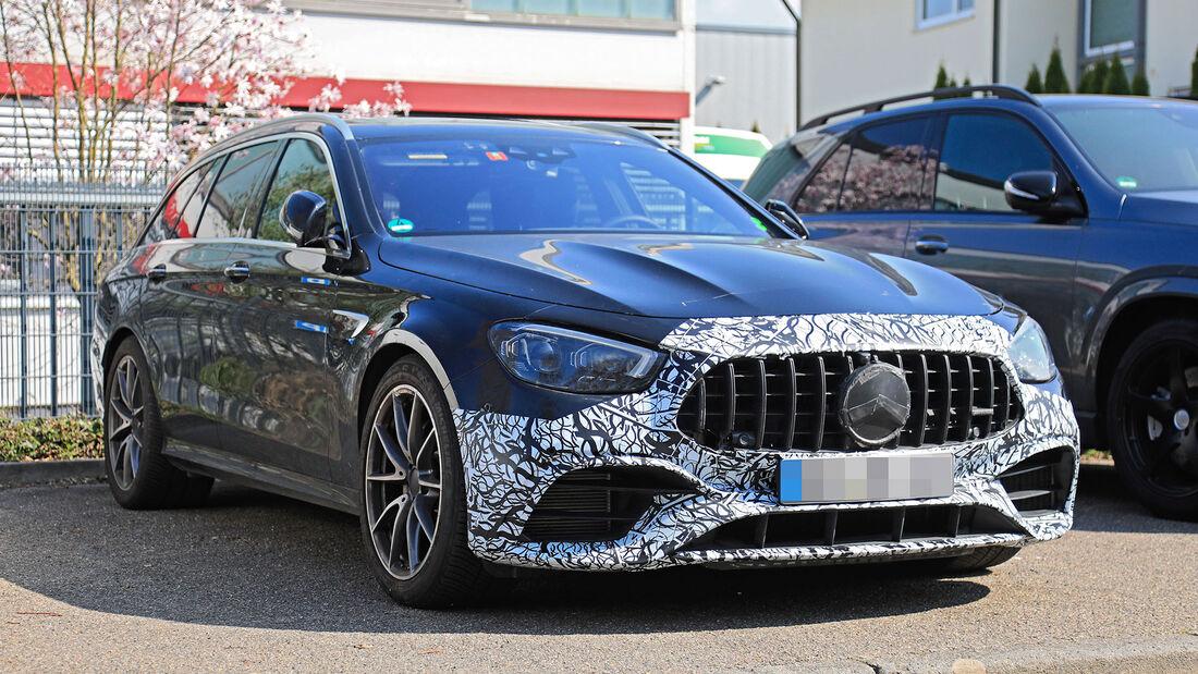 Erlkönig Mercedes E63 T-Modell