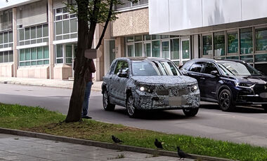 Erlkönig Mercedes EQB