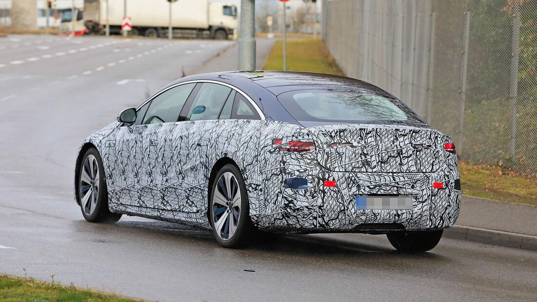 Mercedes EQS (2021): Alle Infos zur elektrischen S-Klasse ...