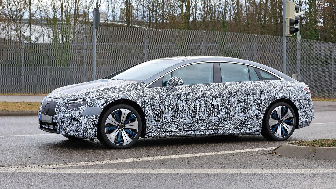 Mercedes EQS (2021): Alles zur elektrischen S-Klasse ...
