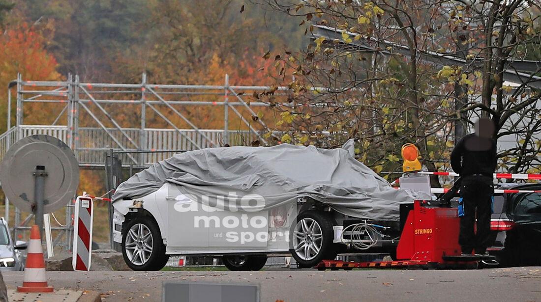 Erlkönig Mercedes EQS