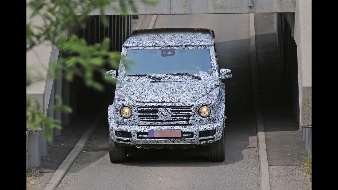 Erlkönig Mercedes G-Klasse