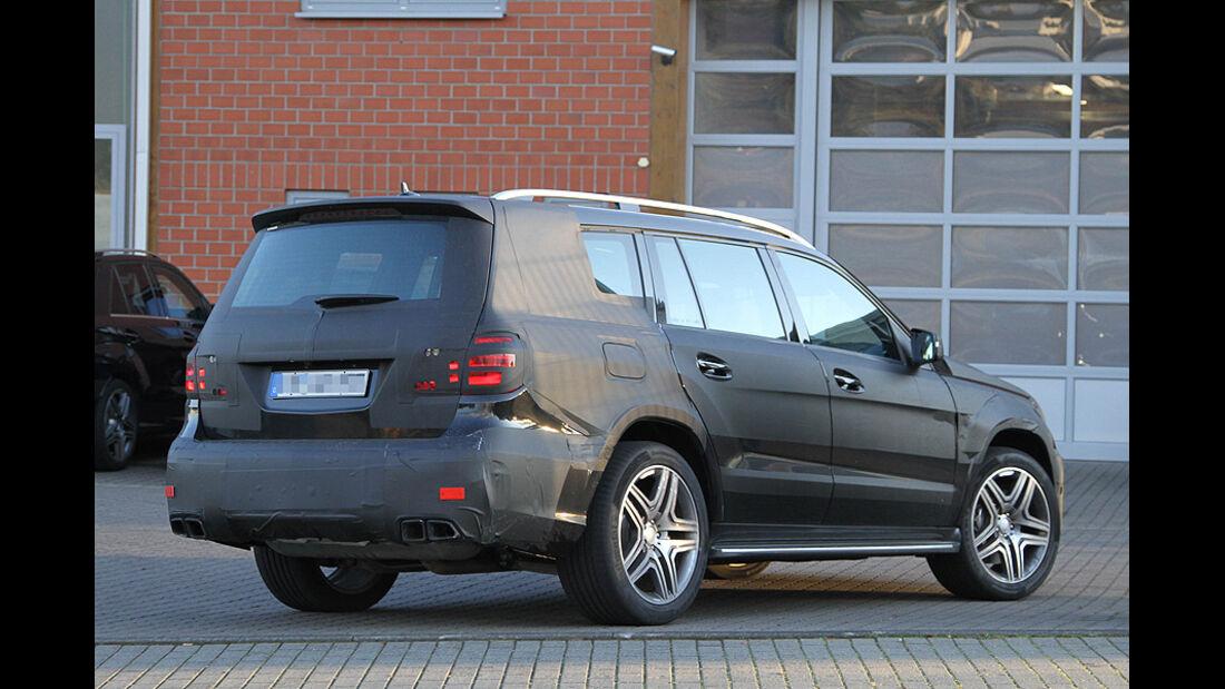 Erlkönig Mercedes GL AMG