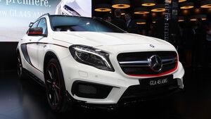 Erlkönig Mercedes GLA 45 AMG