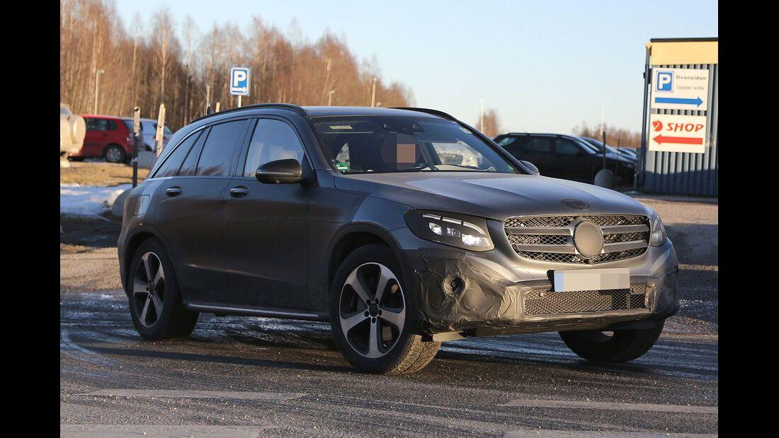 Erlkönig Mercedes GLC