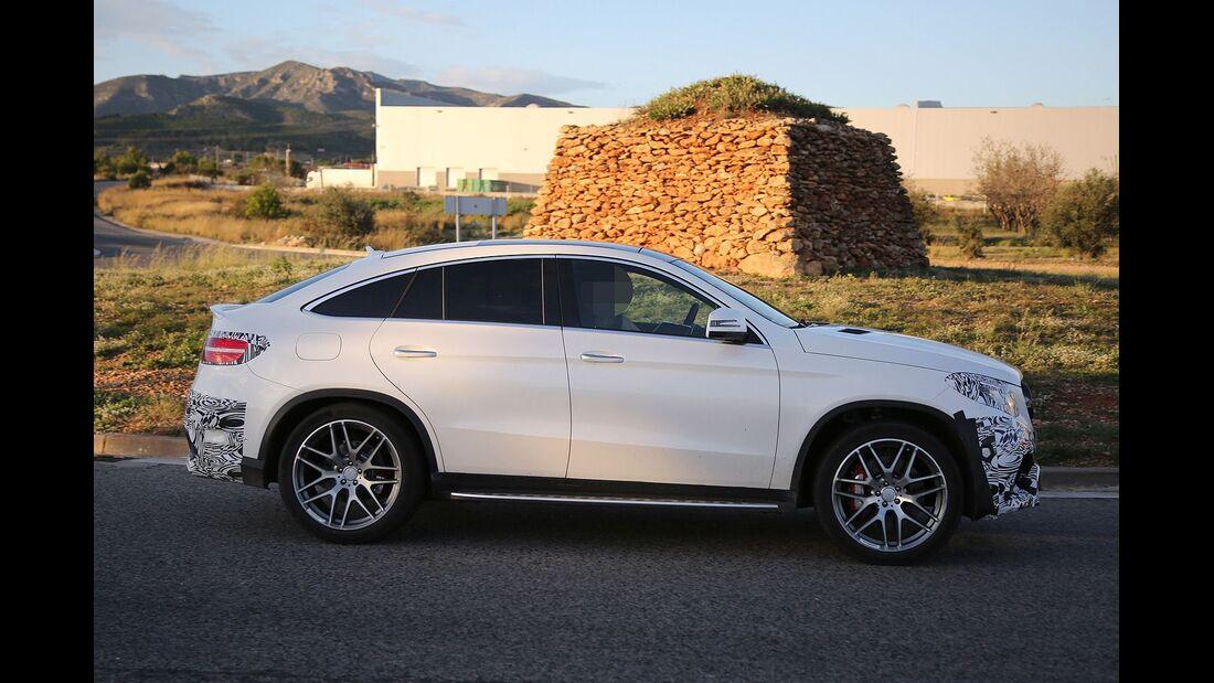 Erlkönig Mercedes GLE Coupé