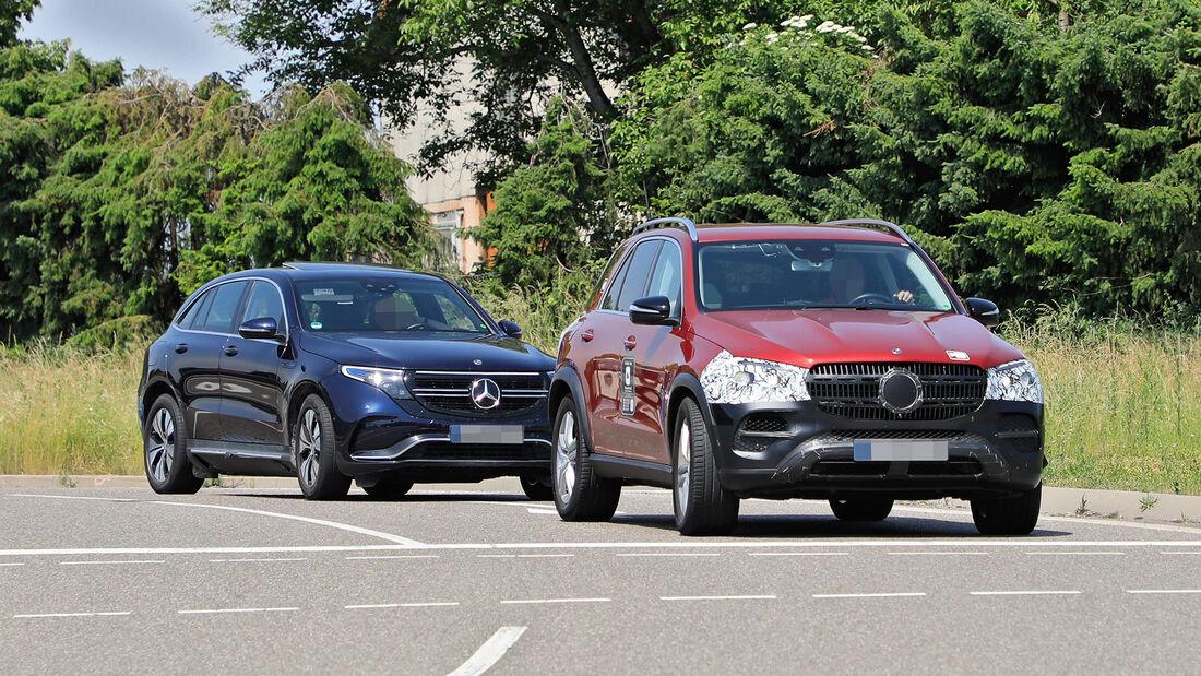 Erlkönig Mercedes GLE Facelift