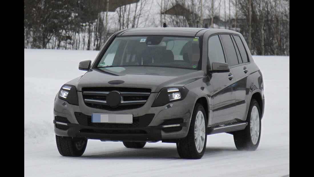 Erlkönig Mercedes GLK