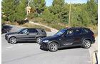Erlkönig Mercedes ML, BMW X5