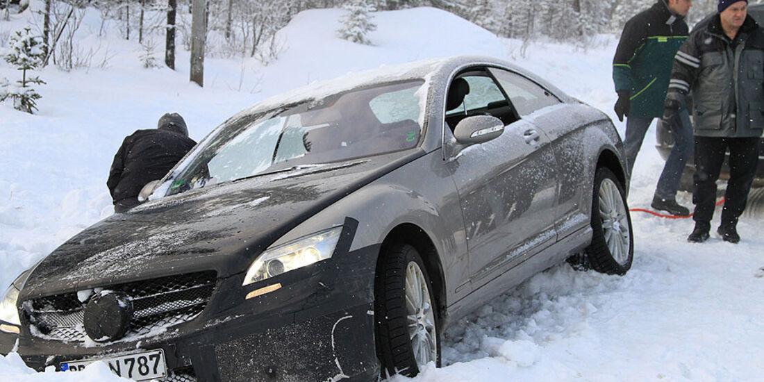Erlkönig Mercedes ML