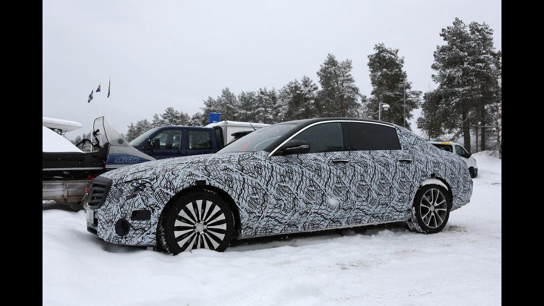 Erlkönig Mercedes-Maybach E-Klasse