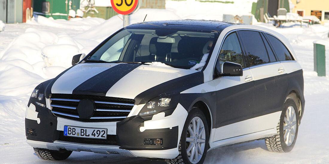 Erlkönig Mercedes R-Klasse