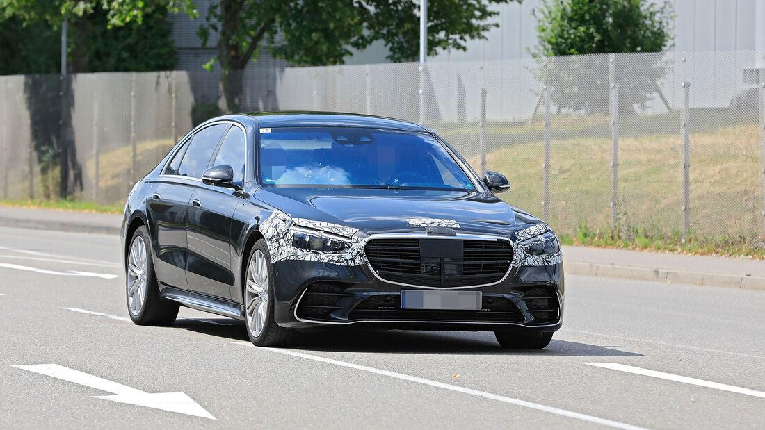 Mercedes-AMG S63 (2021): Top-S-Klasse nur mit Hybrid ...