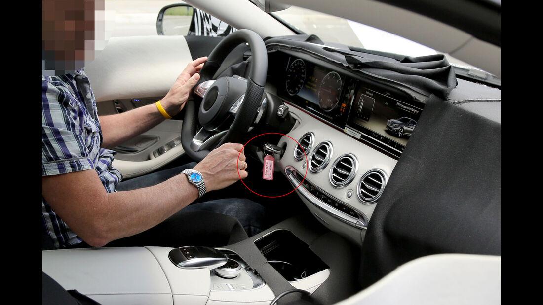 Erlkönig Mercedes S-Klasse Coupé