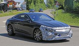 Erlkönig Mercedes S-Klasse Coupé S 63 AMG